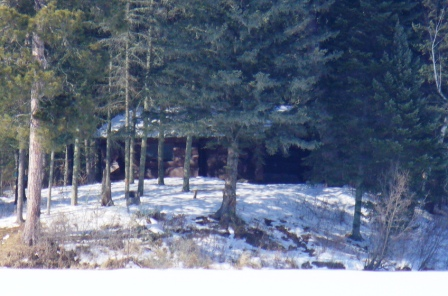 Itasca State Park 2.23.08.002 - Old Timer's Cabin