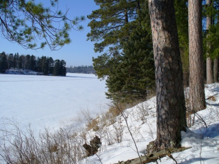 Itasca State Park 2.23.08.013 - North View on the East Arm