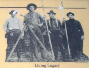 Josiah A. King and his three-man crew